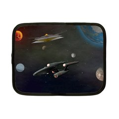 Space Travel Spaceship Space Netbook Case (small)
