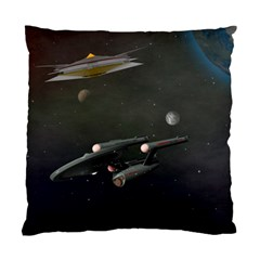 Space Travel Spaceship Space Standard Cushion Case (one Side)