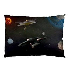 Space Travel Spaceship Space Pillow Case