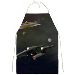 Space Travel Spaceship Space Full Print Aprons