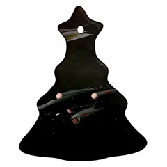 Space Travel Spaceship Space Ornament (christmas Tree)