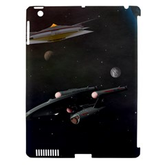 Space Travel Spaceship Space Apple Ipad 3/4 Hardshell Case (compatible With Smart Cover)