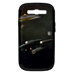 Space Travel Spaceship Space Samsung Galaxy S Iii Hardshell Case (pc+silicone)