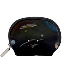Space Travel Spaceship Space Accessory Pouches (small)