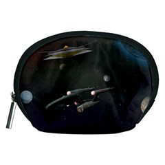 Space Travel Spaceship Space Accessory Pouches (medium)
