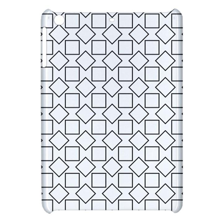 Square Line Stripe Pattern Apple iPad Mini Hardshell Case