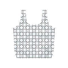 Square Line Stripe Pattern Full Print Recycle Bags (s)