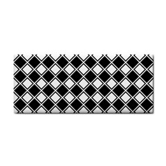 Square Diagonal Pattern Seamless Cosmetic Storage Cases