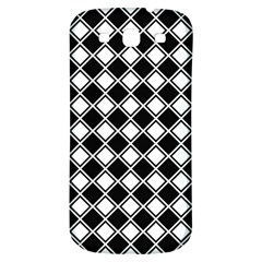 Square Diagonal Pattern Seamless Samsung Galaxy S3 S Iii Classic Hardshell Back Case