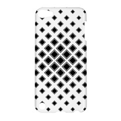 Square Pattern Monochrome Apple Ipod Touch 5 Hardshell Case