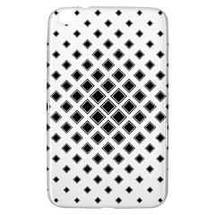 Square Pattern Monochrome Samsung Galaxy Tab 3 (8 ) T3100 Hardshell Case