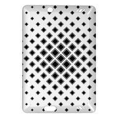 Square Pattern Monochrome Amazon Kindle Fire Hd (2013) Hardshell Case