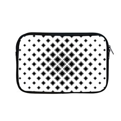 Square Pattern Monochrome Apple Macbook Pro 13  Zipper Case