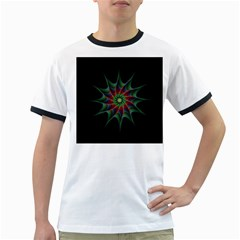 Star Abstract Burst Starburst Ringer T Shirts