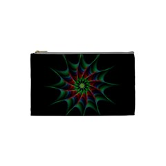 Star Abstract Burst Starburst Cosmetic Bag (small)