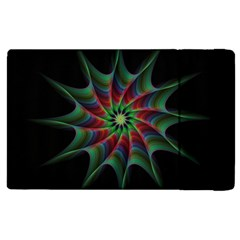 Star Abstract Burst Starburst Apple Ipad 2 Flip Case