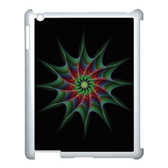 Star Abstract Burst Starburst Apple Ipad 3/4 Case (white)