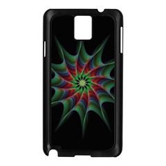 Star Abstract Burst Starburst Samsung Galaxy Note 3 N9005 Case (black)