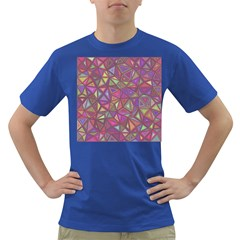 Triangle Background Abstract Dark T Shirt