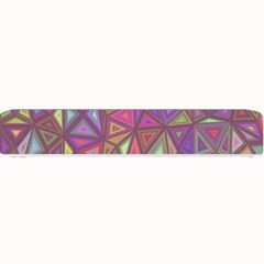 Triangle Background Abstract Small Bar Mats