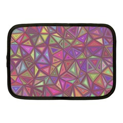 Triangle Background Abstract Netbook Case (medium)