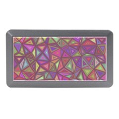 Triangle Background Abstract Memory Card Reader (mini)