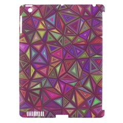 Triangle Background Abstract Apple Ipad 3/4 Hardshell Case (compatible With Smart Cover)