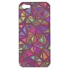 Triangle Background Abstract Apple Iphone 5 Hardshell Case