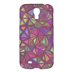 Triangle Background Abstract Samsung Galaxy S4 I9500/i9505 Hardshell Case