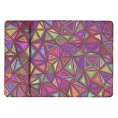 Triangle Background Abstract Samsung Galaxy Tab 10 1  P7500 Flip Case