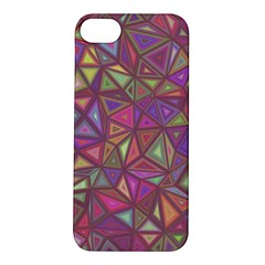 Triangle Background Abstract Apple Iphone 5s/ Se Hardshell Case