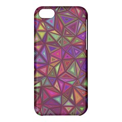 Triangle Background Abstract Apple Iphone 5c Hardshell Case