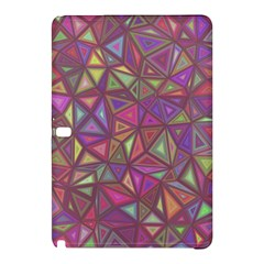 Triangle Background Abstract Samsung Galaxy Tab Pro 10 1 Hardshell Case