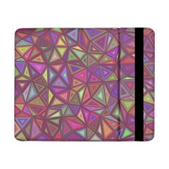 Triangle Background Abstract Samsung Galaxy Tab Pro 8 4  Flip Case