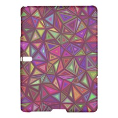 Triangle Background Abstract Samsung Galaxy Tab S (10 5 ) Hardshell Case