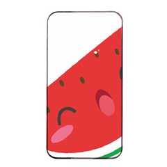 Watermelon Red Network Fruit Juicy Apple Iphone 4/4s Seamless Case (black)