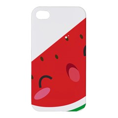 Watermelon Red Network Fruit Juicy Apple Iphone 4/4s Hardshell Case