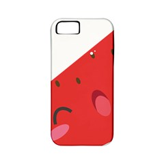 Watermelon Red Network Fruit Juicy Apple Iphone 5 Classic Hardshell Case (pc+silicone)
