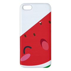 Watermelon Red Network Fruit Juicy Apple Iphone 5 Premium Hardshell Case