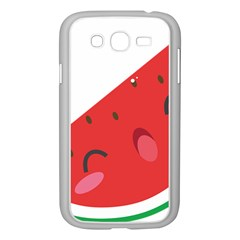 Watermelon Red Network Fruit Juicy Samsung Galaxy Grand Duos I9082 Case (white)
