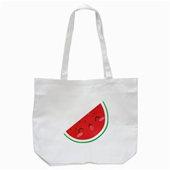 Watermelon Red Network Fruit Juicy Tote Bag (white)
