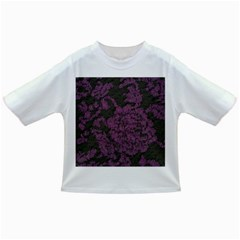 Purple Black Red Fabric Textile Infant/toddler T Shirts