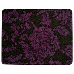 Purple Black Red Fabric Textile Jigsaw Puzzle Photo Stand (rectangular)