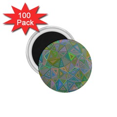 Triangle Background Abstract 1 75  Magnets (100 Pack)