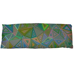 Triangle Background Abstract Body Pillow Case Dakimakura (two Sides)