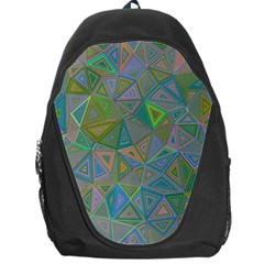 Triangle Background Abstract Backpack Bag