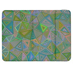 Triangle Background Abstract Samsung Galaxy Tab 7  P1000 Flip Case