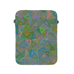 Triangle Background Abstract Apple Ipad 2/3/4 Protective Soft Cases