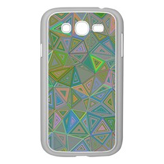 Triangle Background Abstract Samsung Galaxy Grand Duos I9082 Case (white)