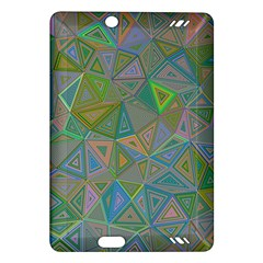 Triangle Background Abstract Amazon Kindle Fire Hd (2013) Hardshell Case